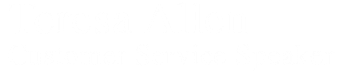 Teresa Allen​Customer Service Speaker